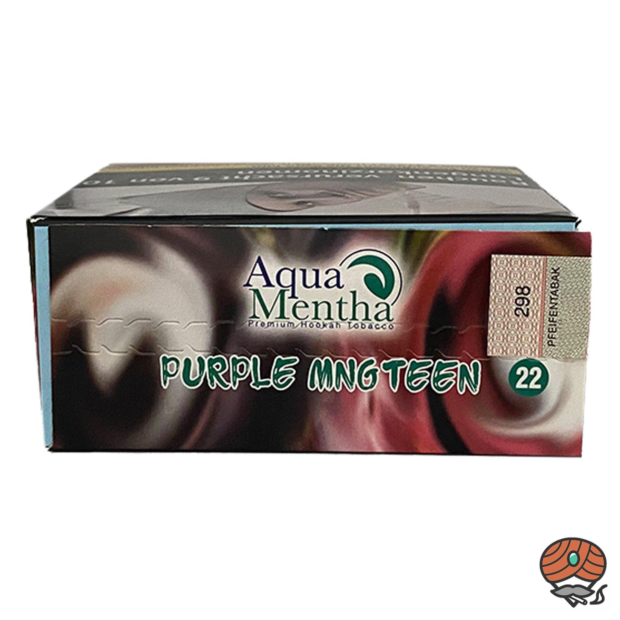 Aqua Mentha Purple Mngteen #22 200 g Shisha Tabak