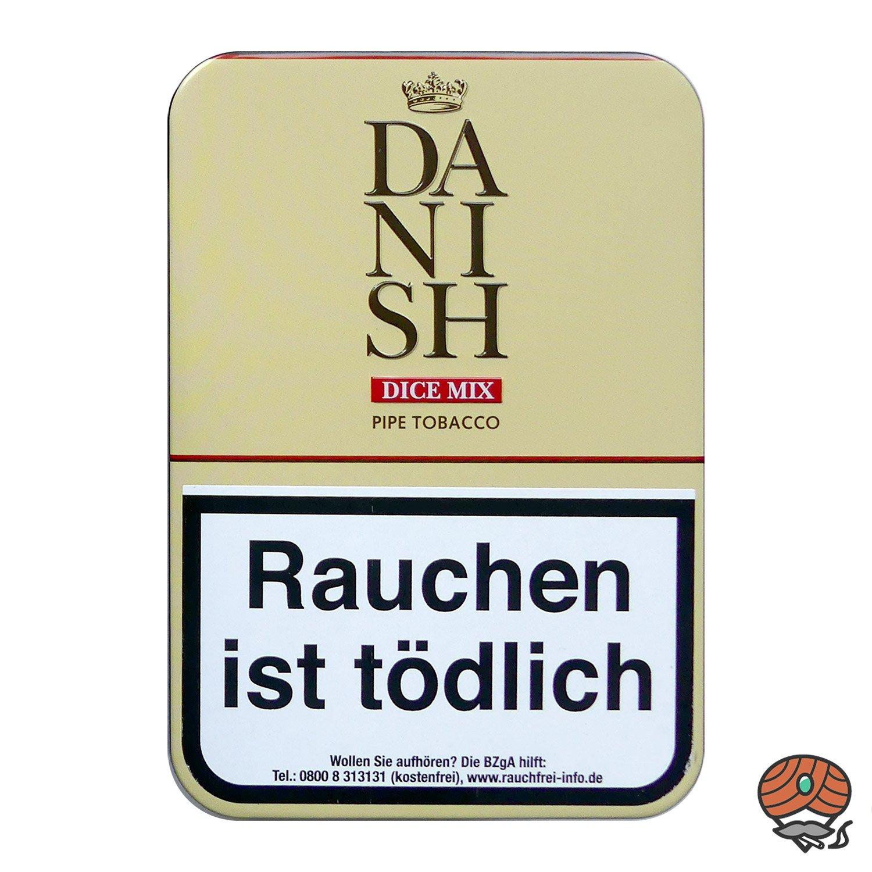 DANISH DICE MIX Pfeifentabak 100 g Dose