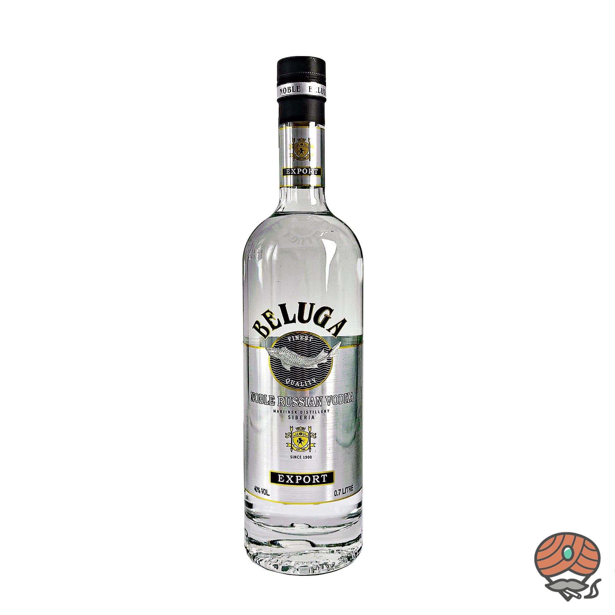 Beluga Noble Russion Vodka - Wodka Siberia 0,7 l, alc. 40 Vol.-%