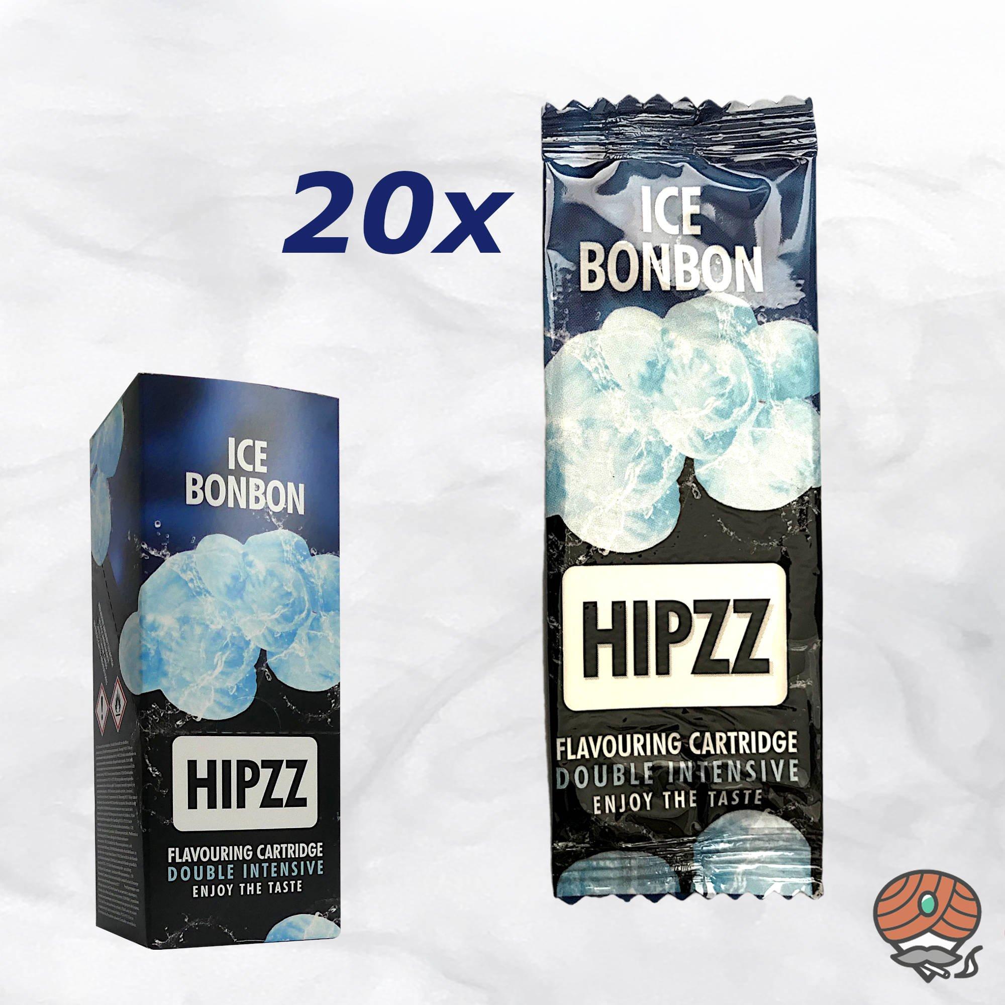 20 x Aromakarte HIPZZ (wie Rizla) ICE BONBON - Aroma für Tabak