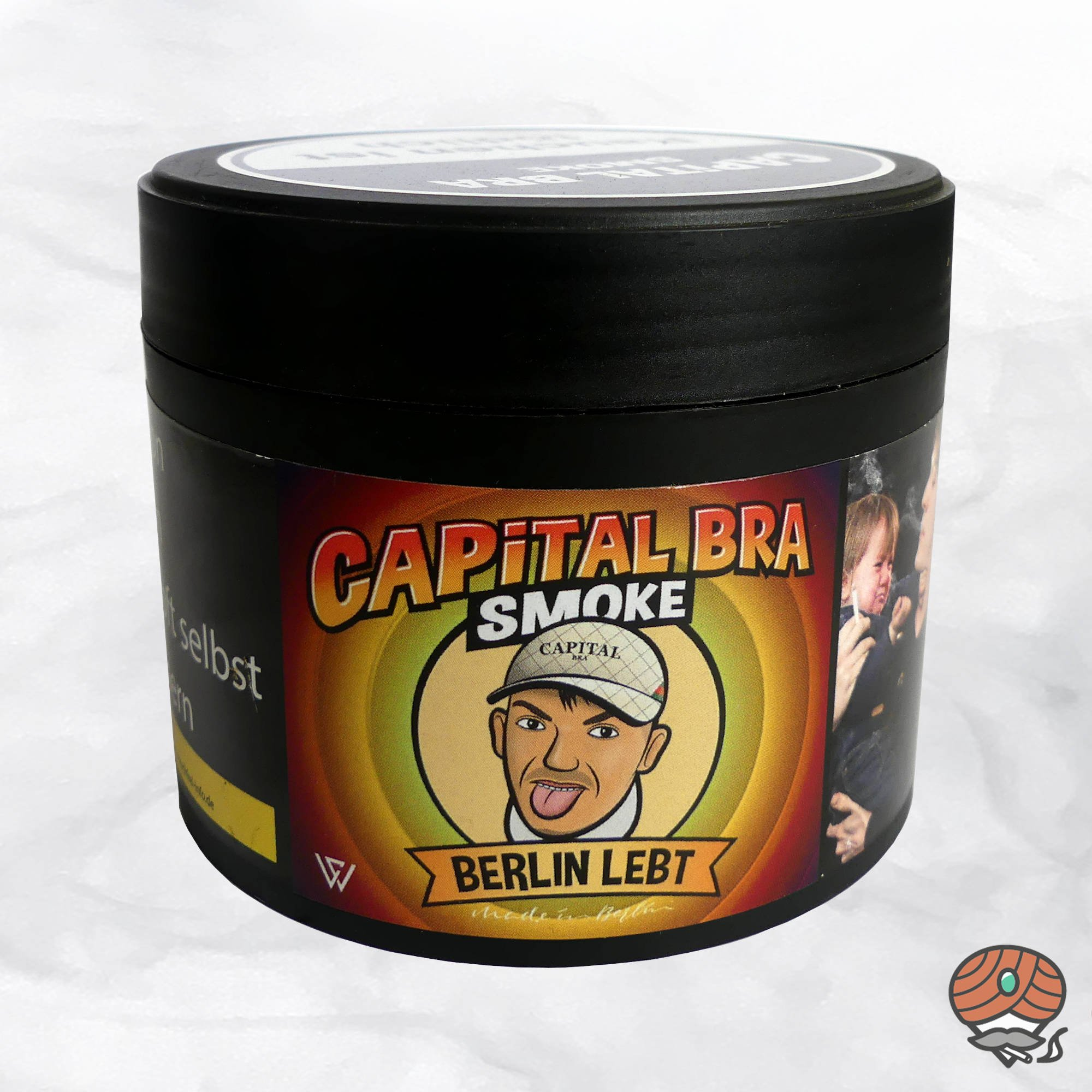 Capital Bra Smoke Shisha Tabak - Berlin lebt 200g