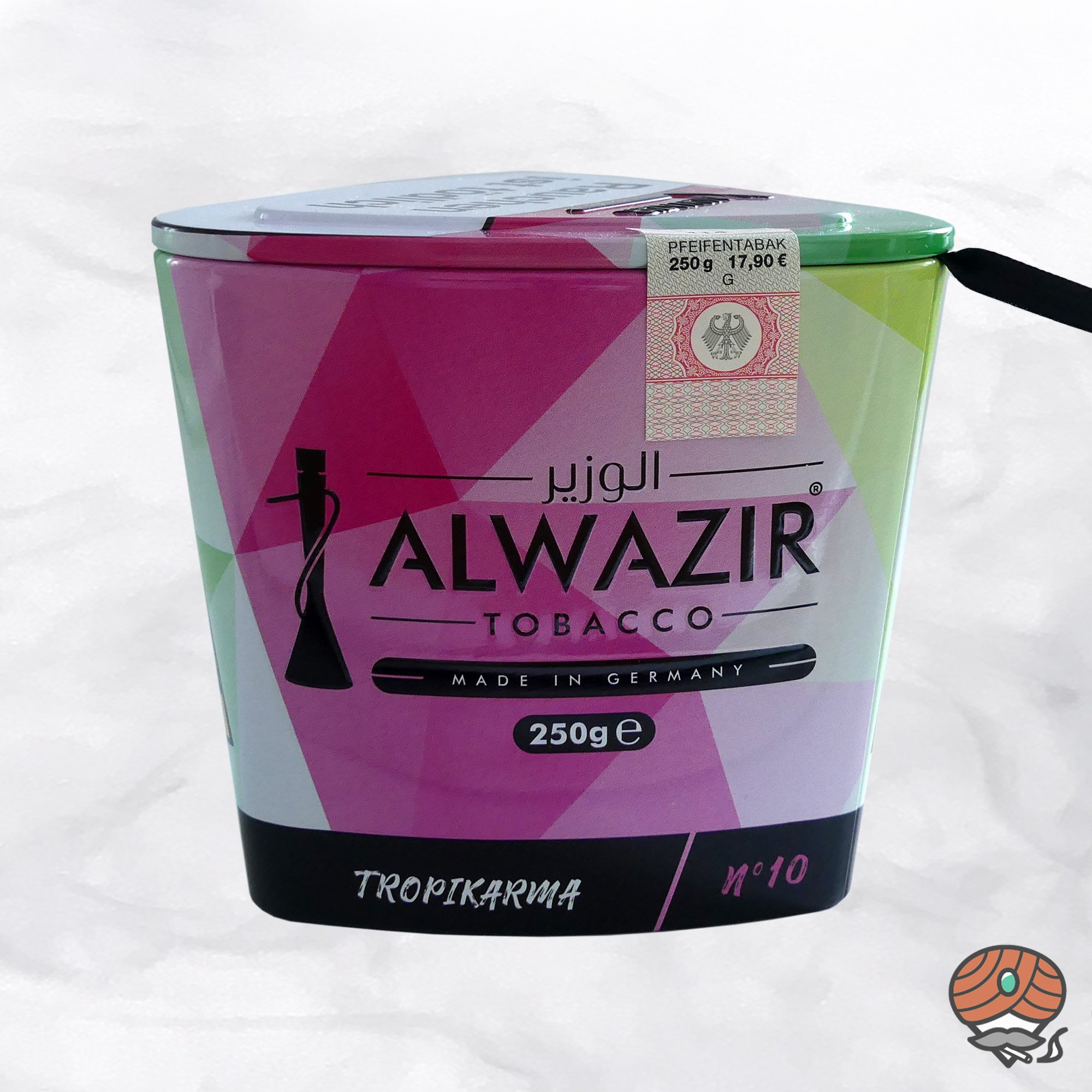 Alwazir Shisha Tabak - No. 10 - TROPIKARMA 250g