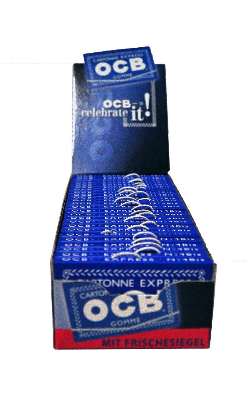 OCB Blau Doppel 25 Hefte á 100 Blatt