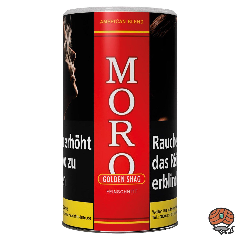 Moro Rot Golden Shag Dose Feinschnitt / Zigarettentabak à 180 g