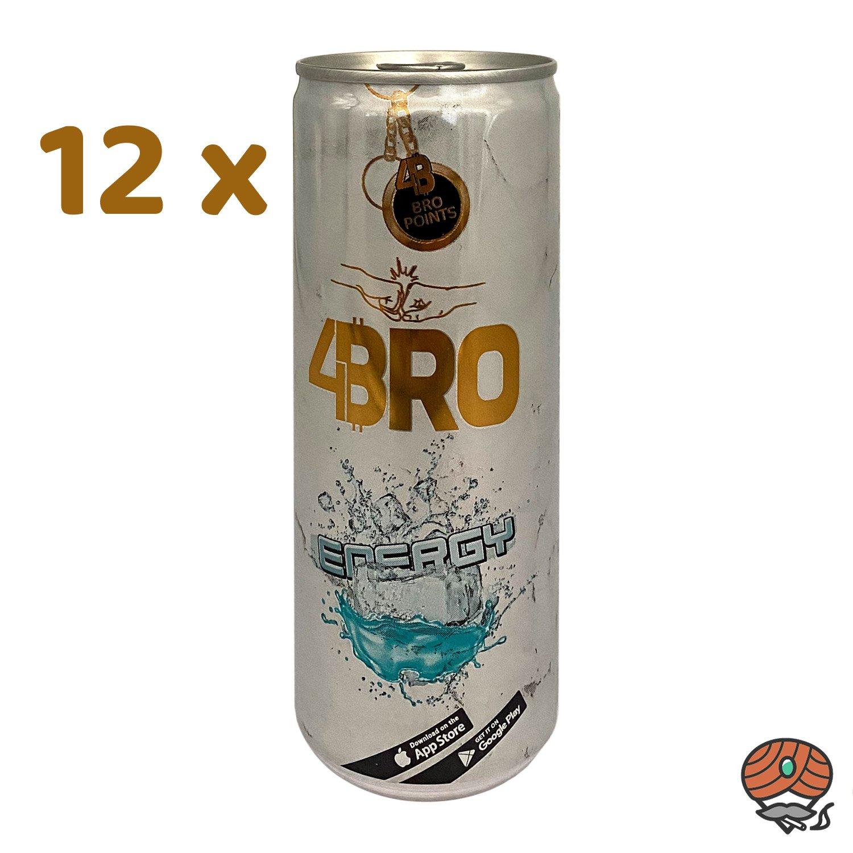 12 x 4BRO Energy Drink ENERGY à 250 ml (inkl. Pfand)
