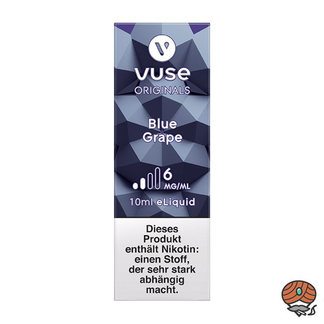 Vuse eLiquid Bottle Blue Grape 6 mg/ml (ehem. Vype)