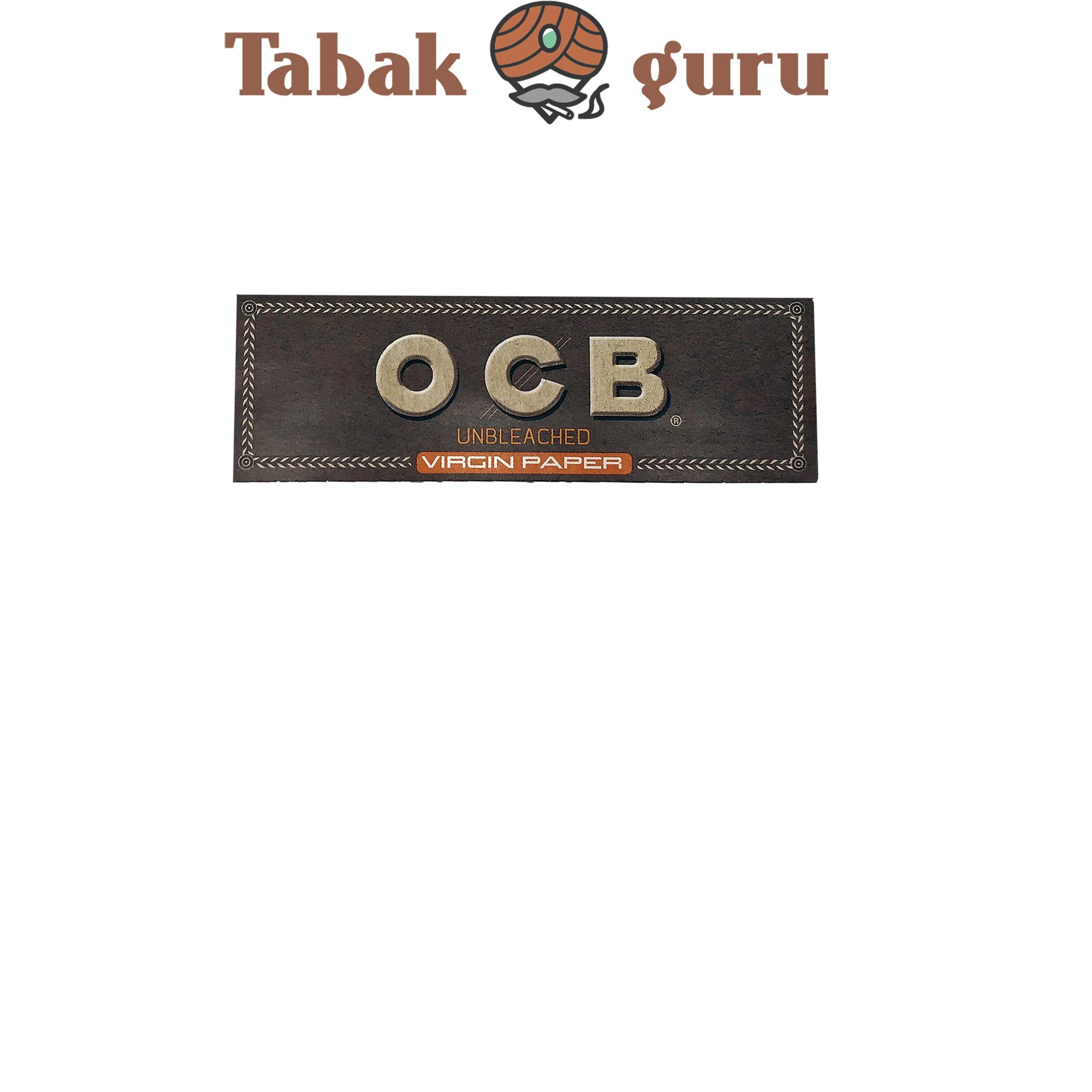 OCB Unbleached Virgin Paper 1 Stück