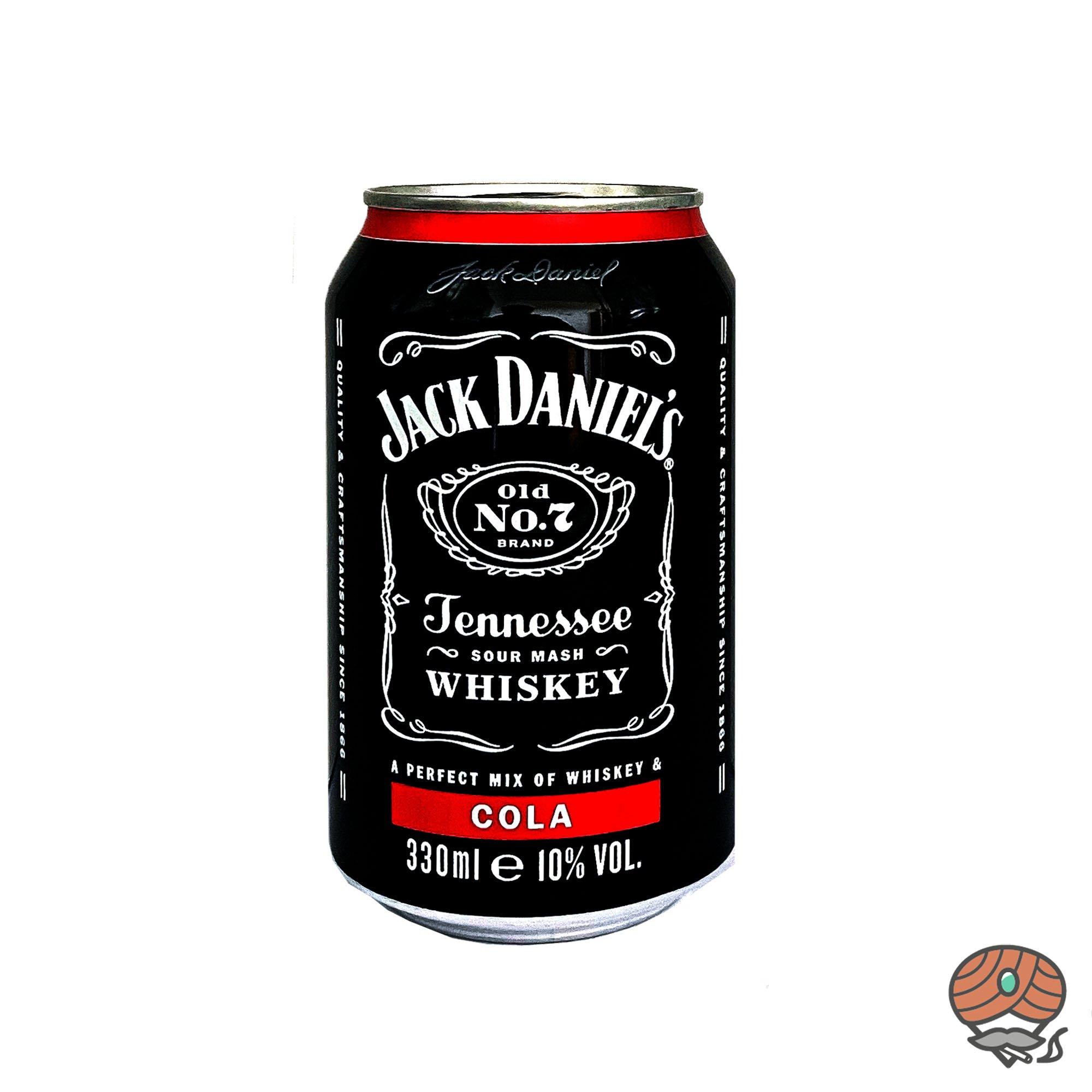 Jack Daniel´s Old No. 7 - Cola Mixgetränk 0,33 l inkl.0,25 Euro Pfand (alc. 10% Vol)