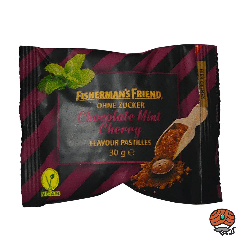 Fisherman`s Friend Chocolate Mint Cherry ohne Zucker 30 g