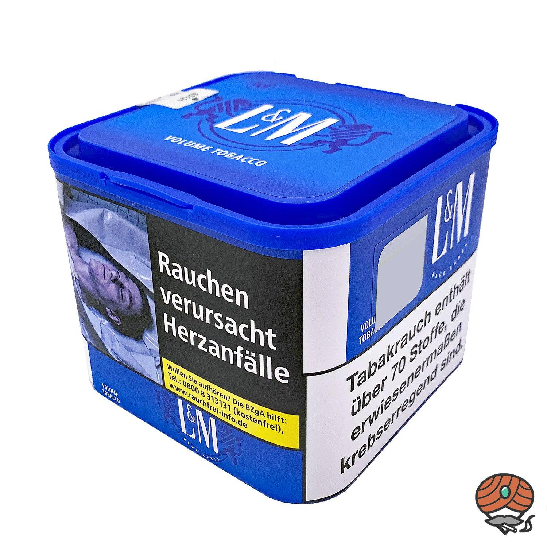 L&M Blue Zigarettentabak / Volumentabak 45g Dose