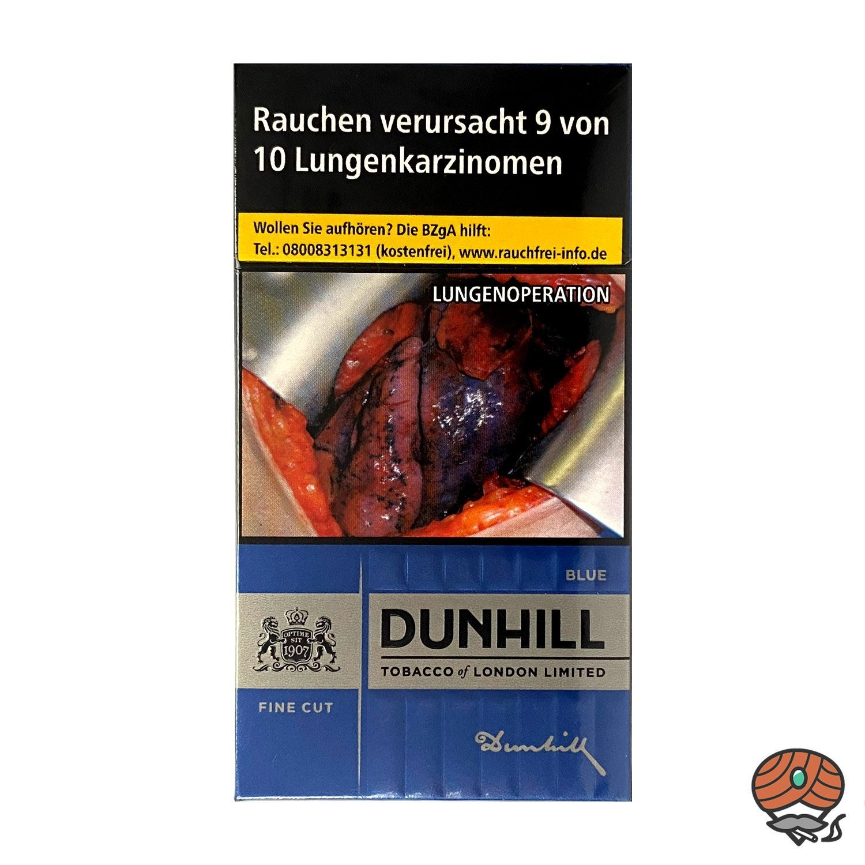 Dunhill BLUE FINE CUT Zigaretten, 20 Stück