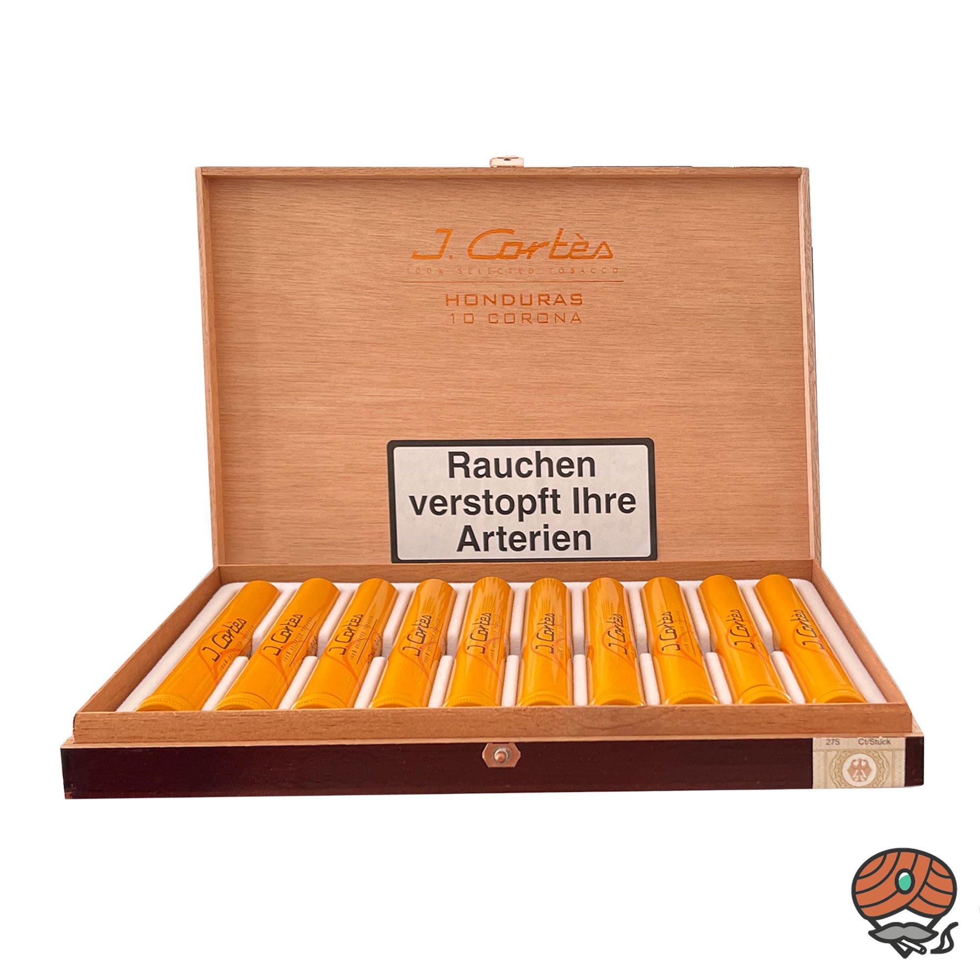 10 er Kiste J. Cortès Honduras Corona Zigarre (100% Tabak)