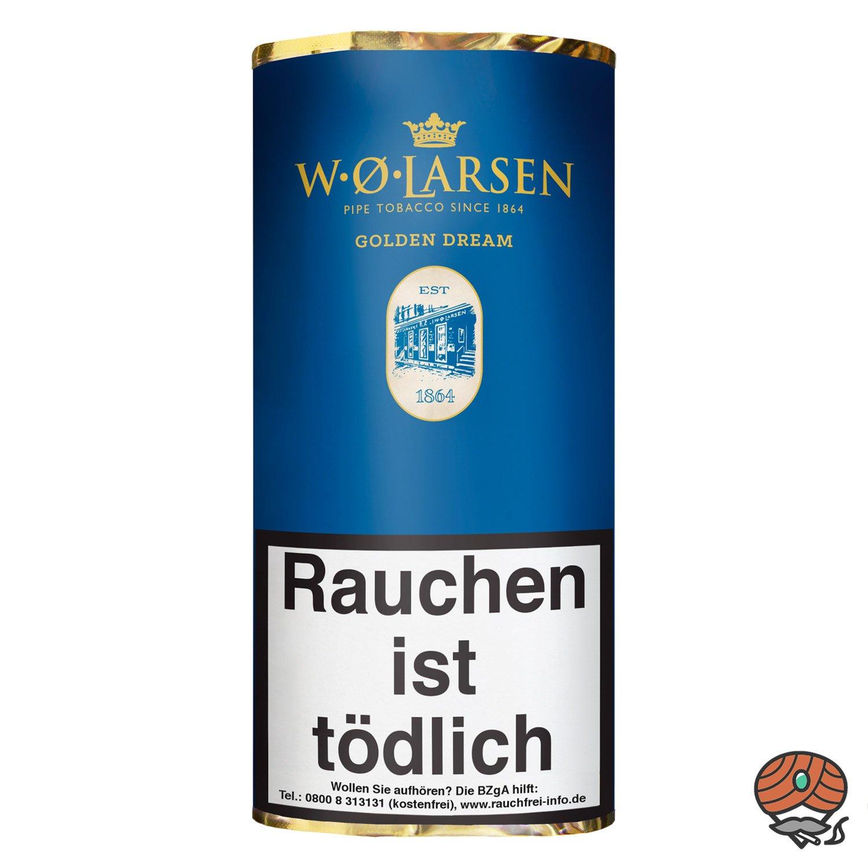 W.Ø. LARSEN Golden Dream Pfeifentabak 50g Pouch / Beutel