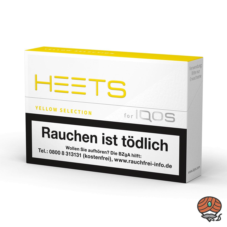 HEETS Yellow Selection Tabak Sticks von Marlboro für IQOS 20 Stück