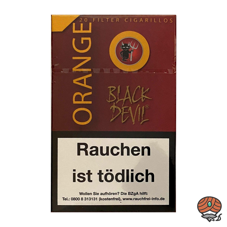 Black Devil ORANGE Filter Zigarillos 20 Stück