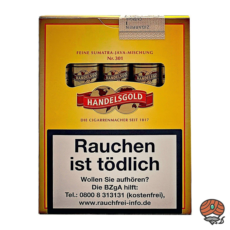 Handelsgold No. 301 Sumatra-Java 5 Zigarren
