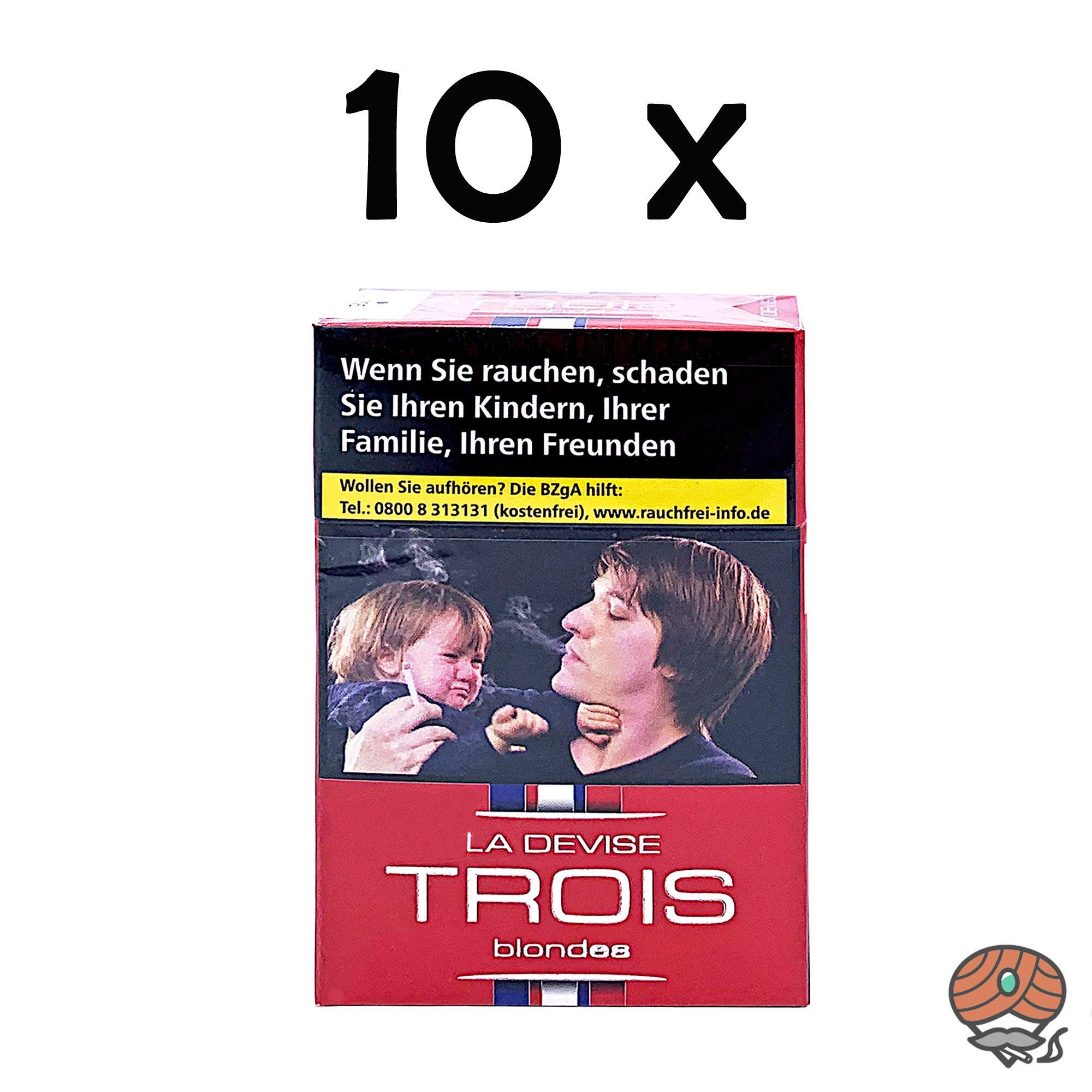Stange La Devise Trois blondes - Fraternité Zigaretten