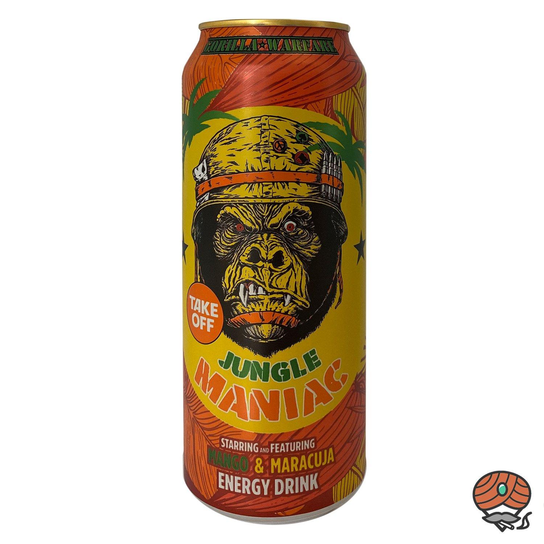 Take Off, Jungle Maniac, Mango & Maracuja, Energy Drink, 500 ml Dose