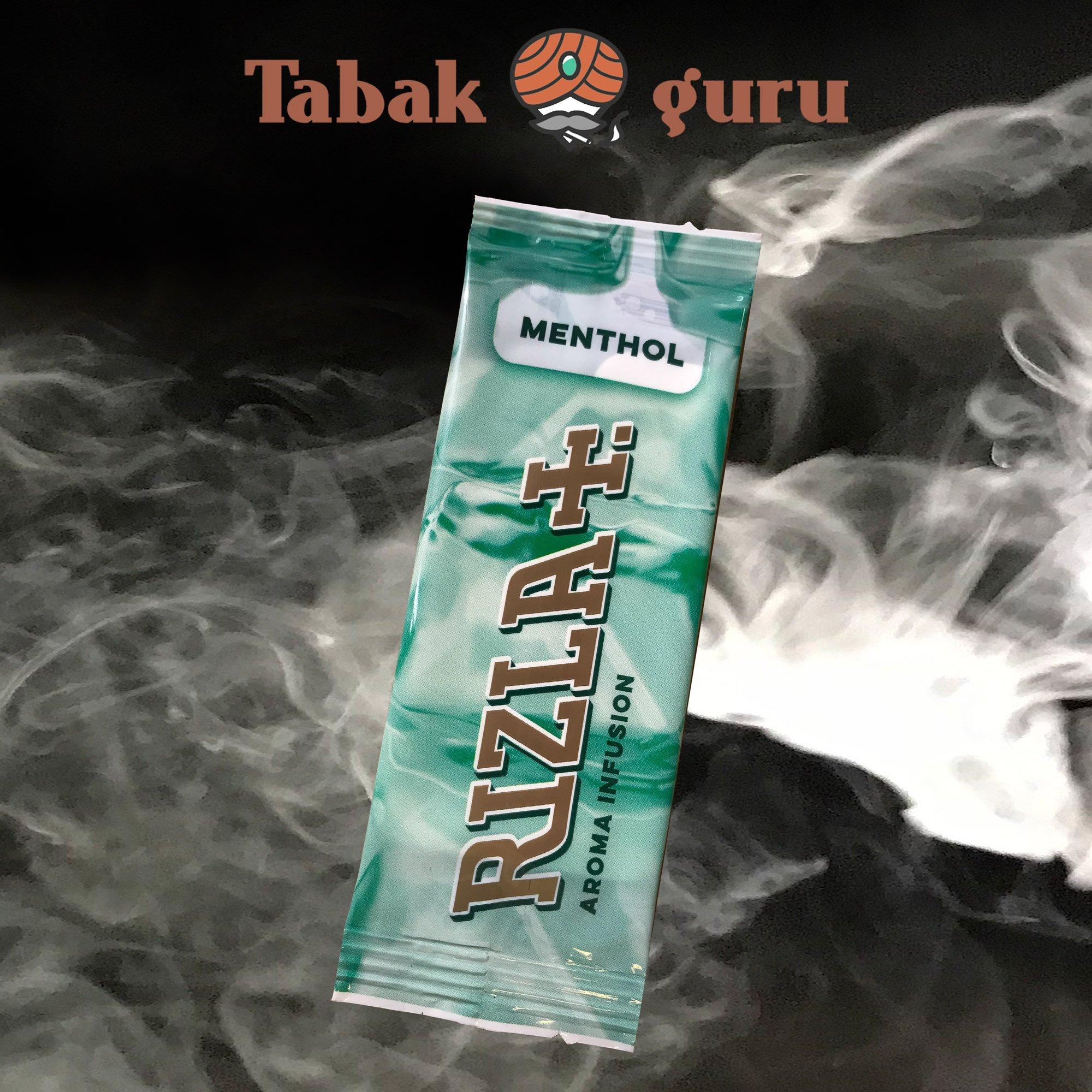 Aromakarte Rizla+  MENTHOL Aroma Infusion