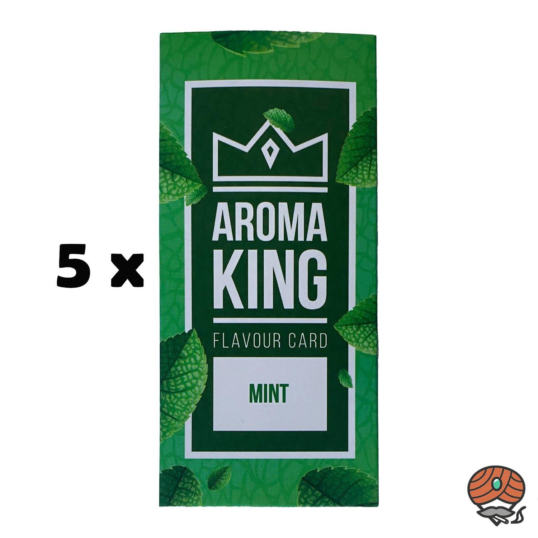5 x Aromakarte MINT von Aroma King - Aroma für Tabak & Zigaretten