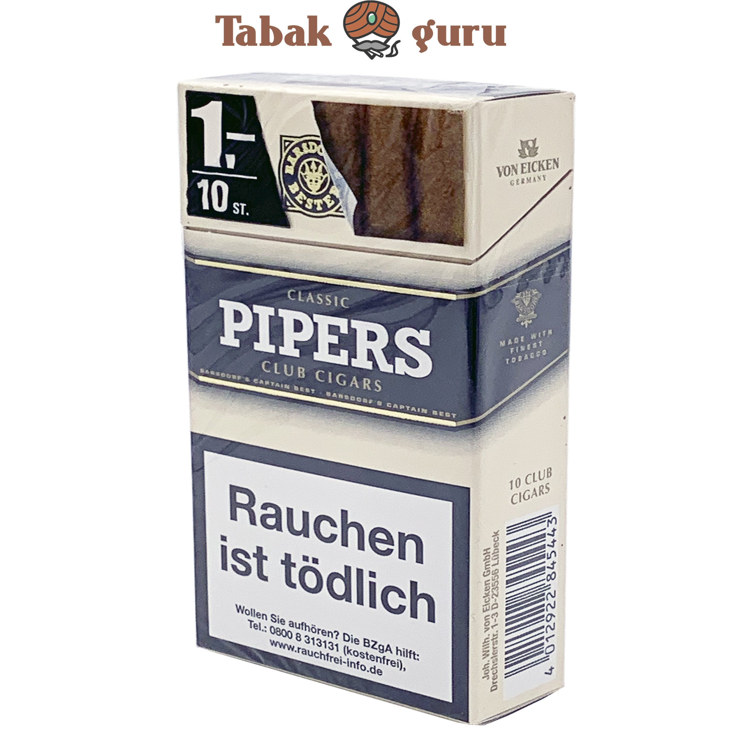 Pipers Club Cigars Classic (10 Zigarren)
