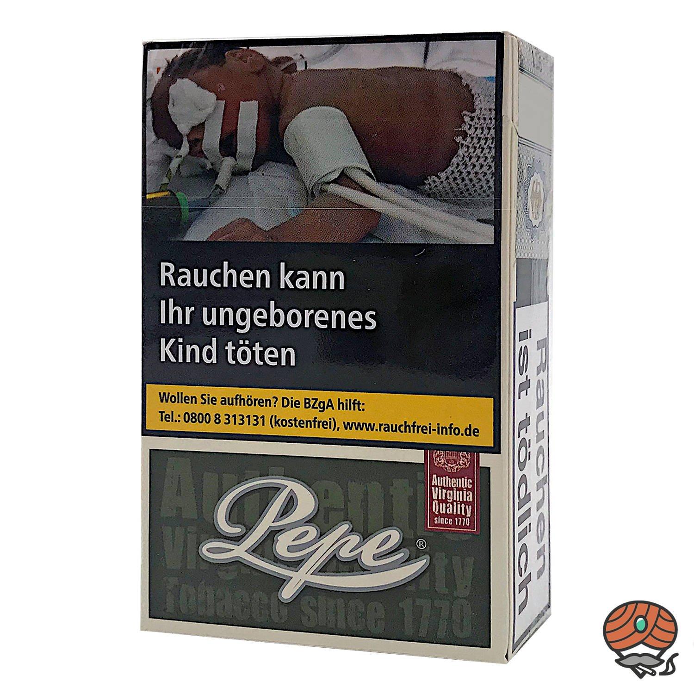Pepe Dark Green Zigaretten ohne Zusätze Inhalt 20 Stück