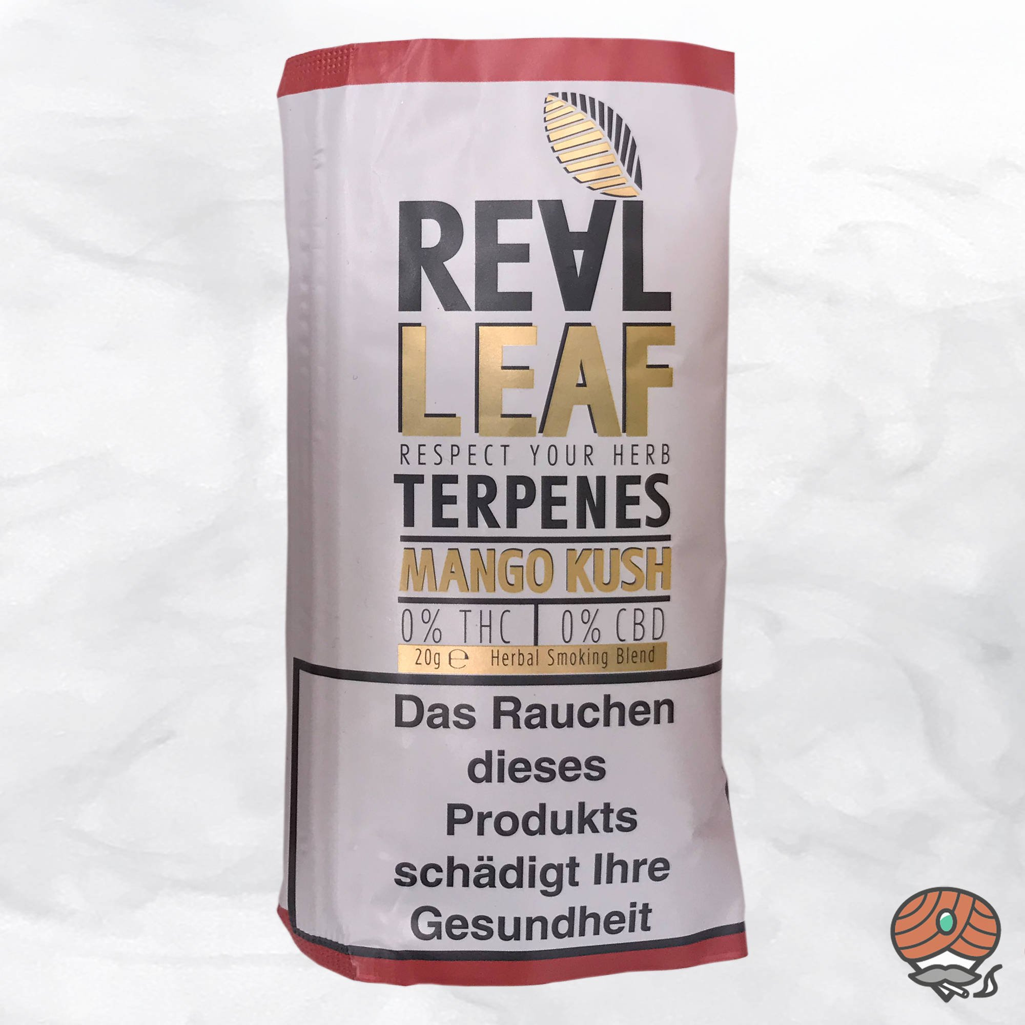 Real Leaf Mango Kush, Tabakersatz, nikotinfrei, Kräutermischung 20g