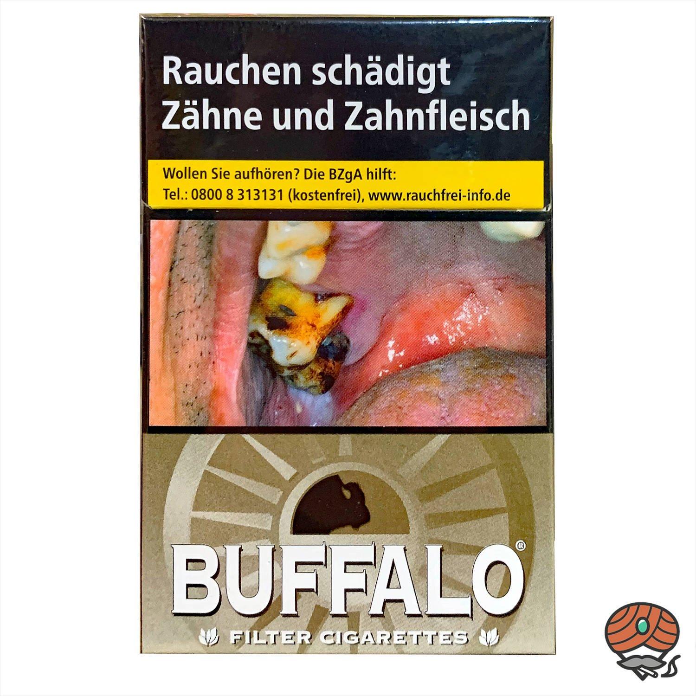 Buffalo Fine Gold Filterzigaretten 20 Stück