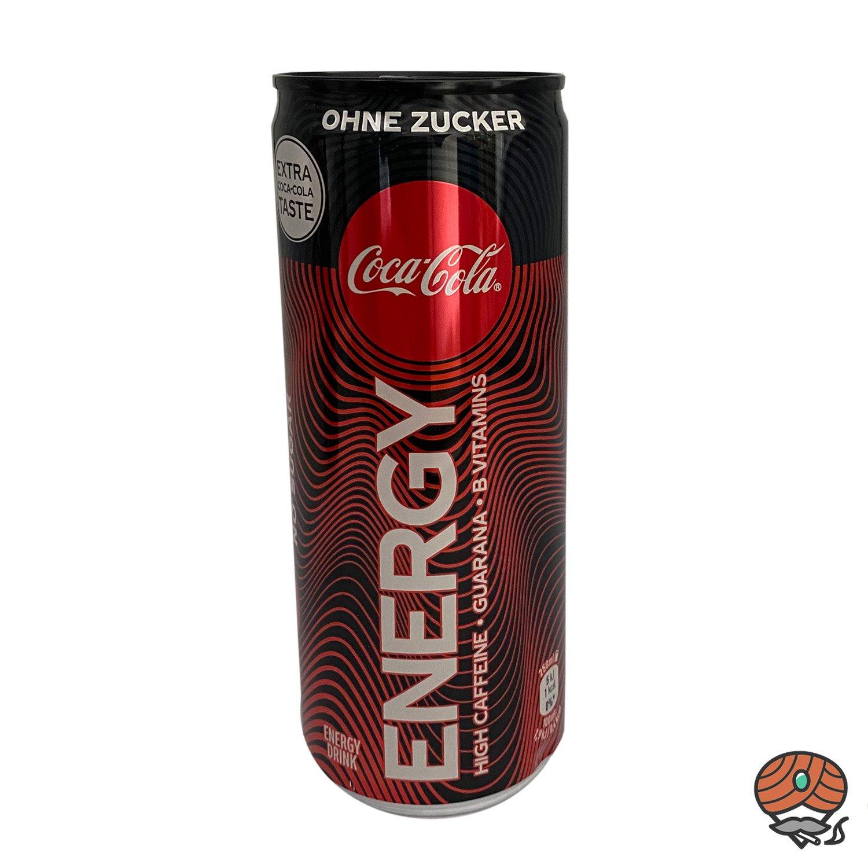 Coca Cola NO Sugar Energy Drink, 250 ml Dose