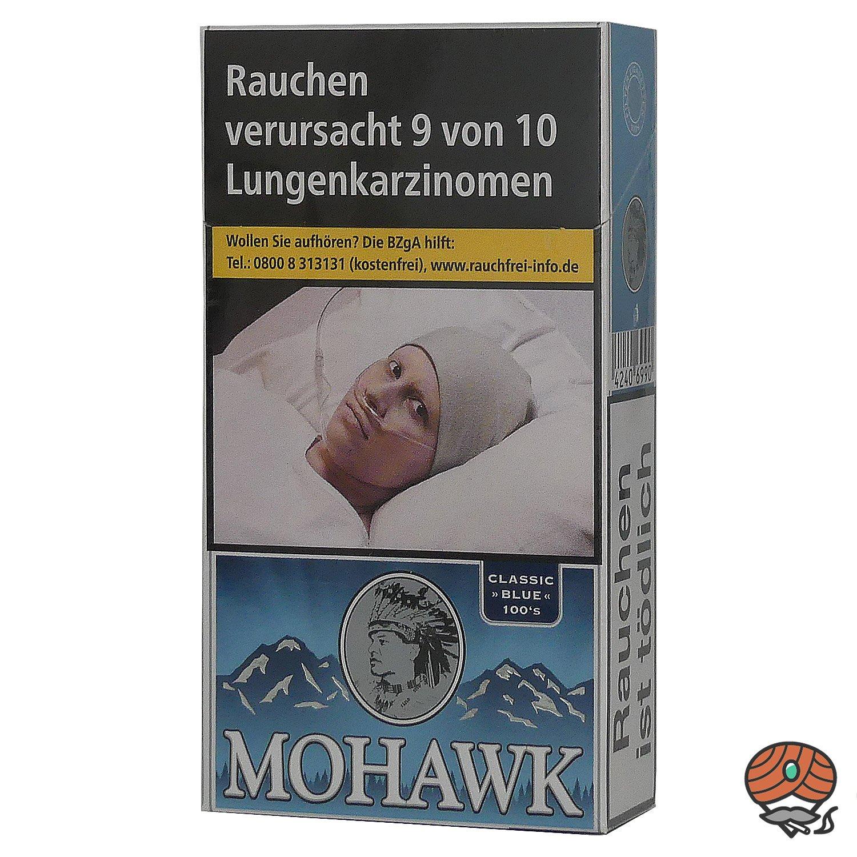 Mohawk Classic Blue Filterzigaretten 100`S 20 Stück
