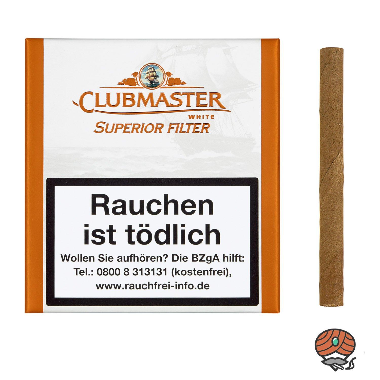 Clubmaster Superior White Filter No. 178 Zigarillos à 20 Stück