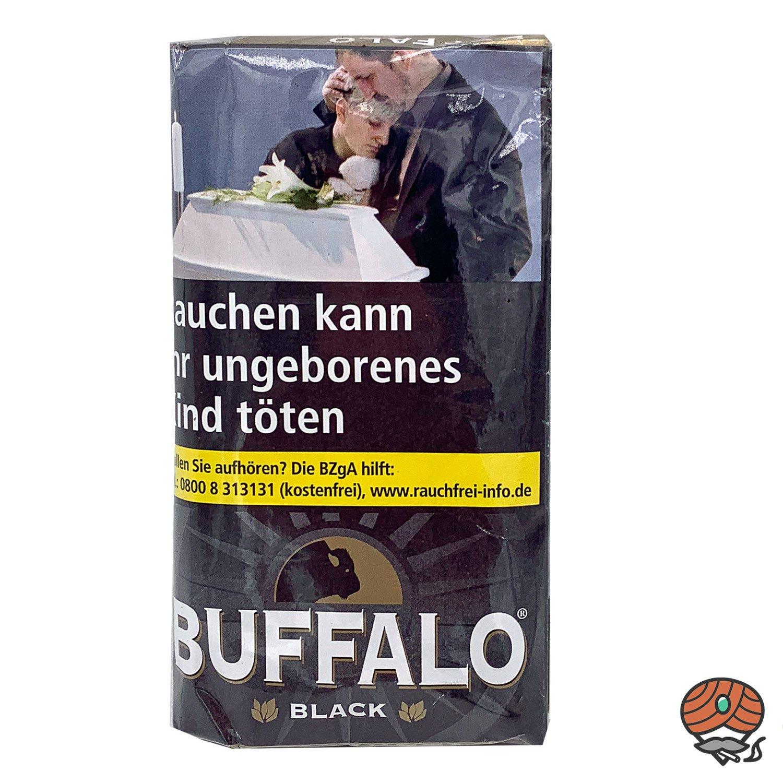Buffalo Black Feinschnitt Drehtabak 40g Pouch