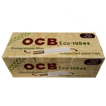 250 OCB Eco Tube Hülsen Zigarettenhülsen OCB Hülsen Zigaretten- Filterhülsen