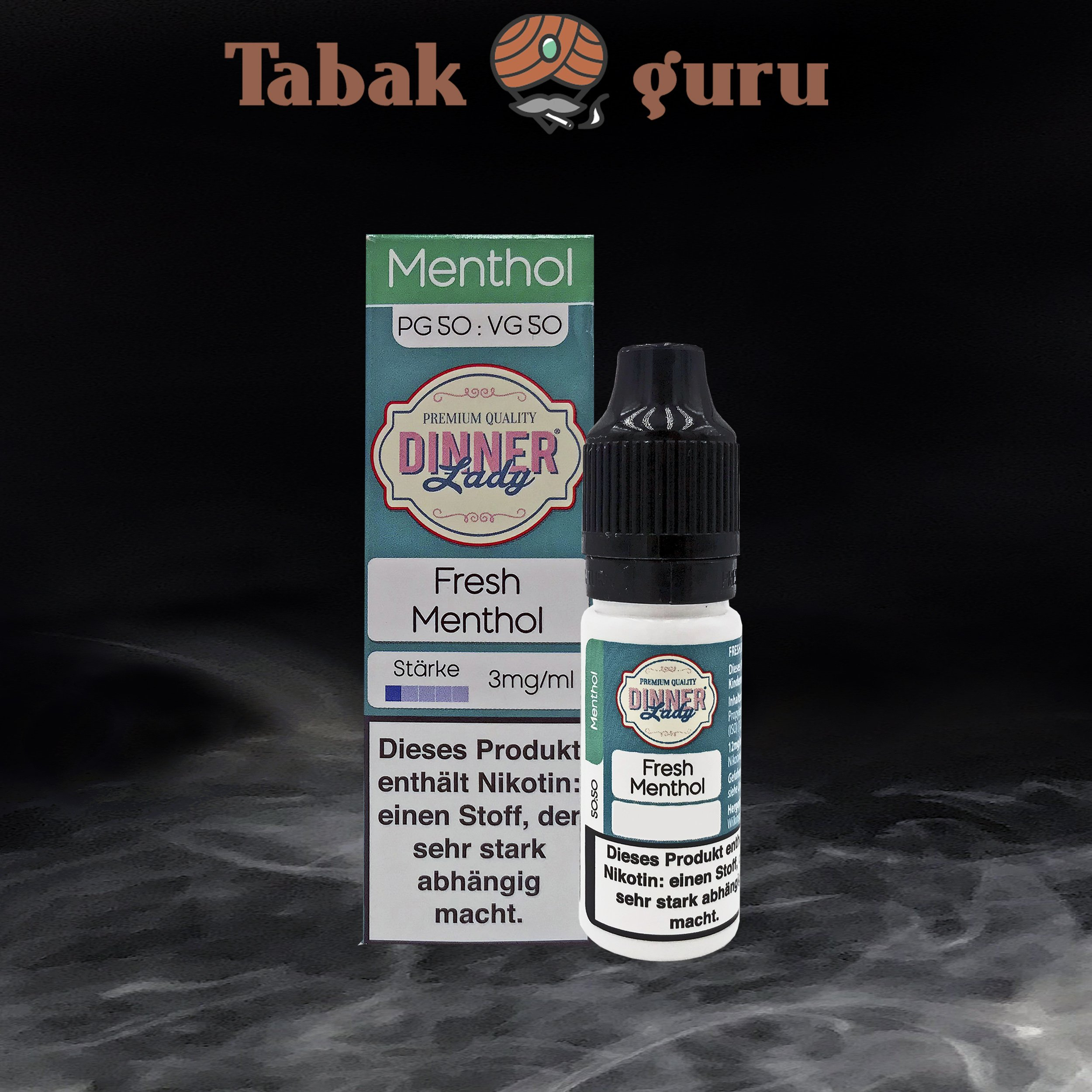 Dinner Lady Fresh Menthol 3mg/ml Nikotin