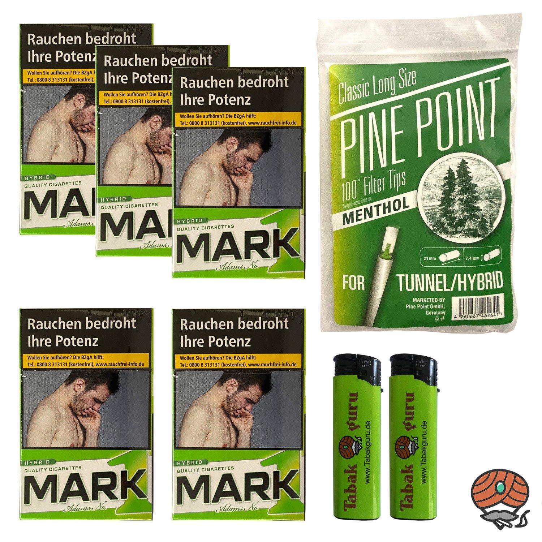 5 x Mark1 HYBRID Zigaretten à 20 Stück + 100 Menthol-Filter