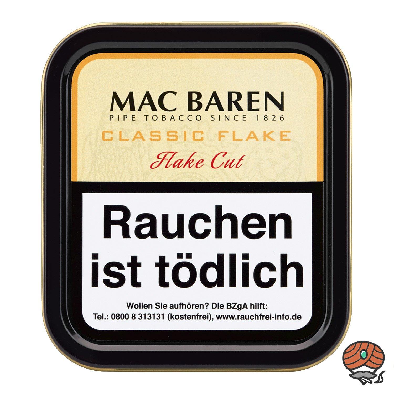 Mac Baren Classic Flake Cut Pfeifentabak 50g Dose