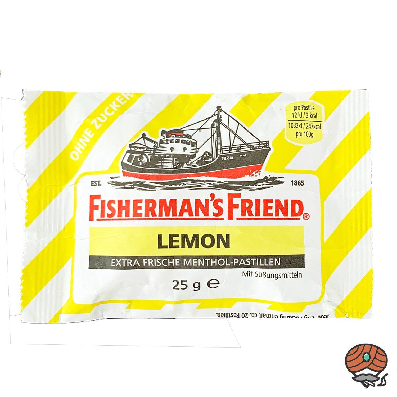 Fisherman`s Friend Menthol-Pastillen Lemon - Zitrone