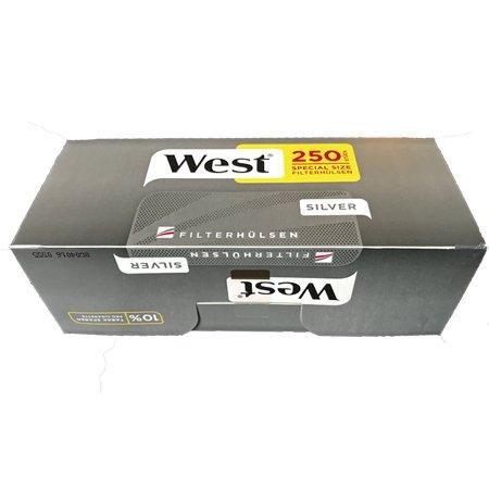 West Silver / Silber Extra Filterhülsen