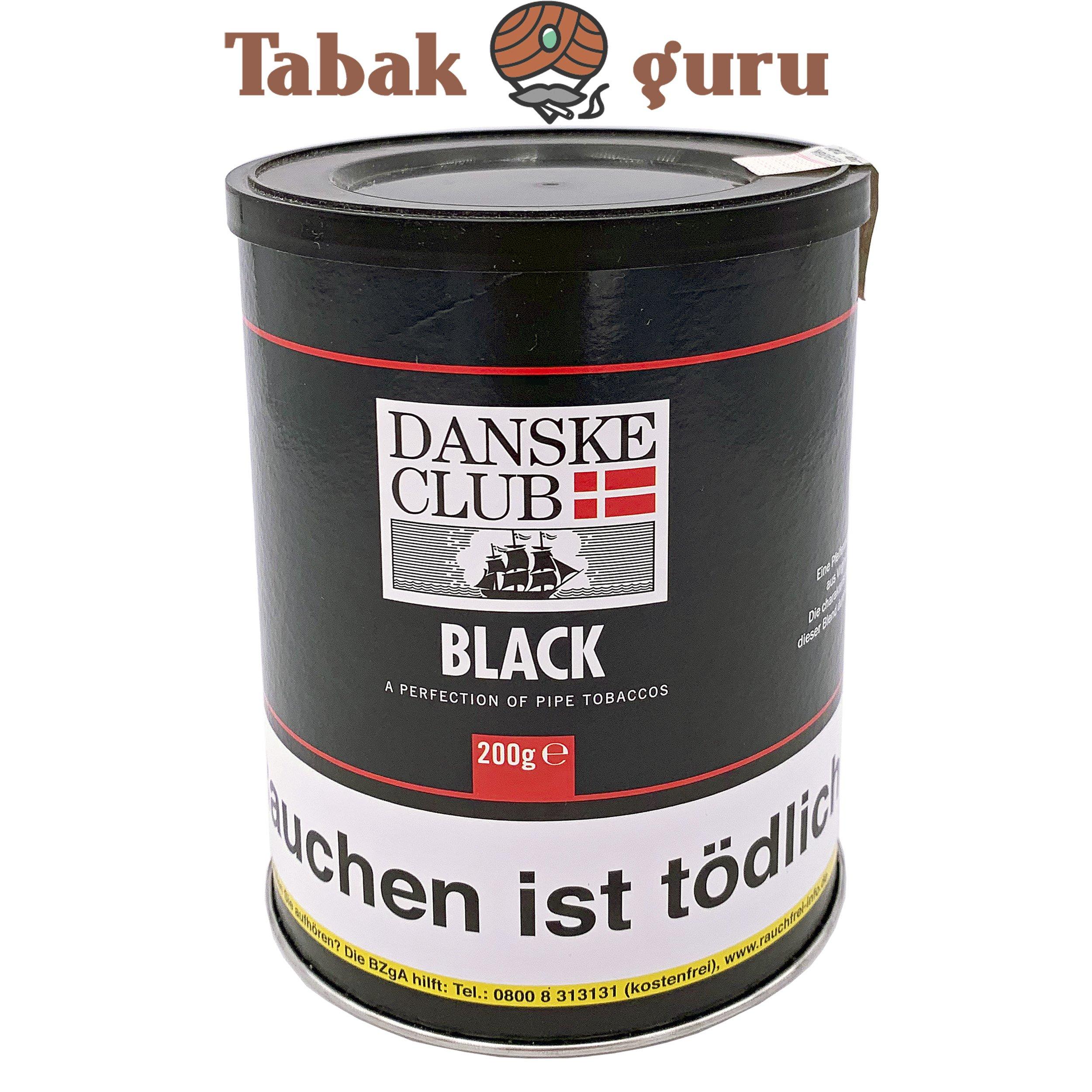 Danske Club Black Pfiefentabak 200 g Dose
