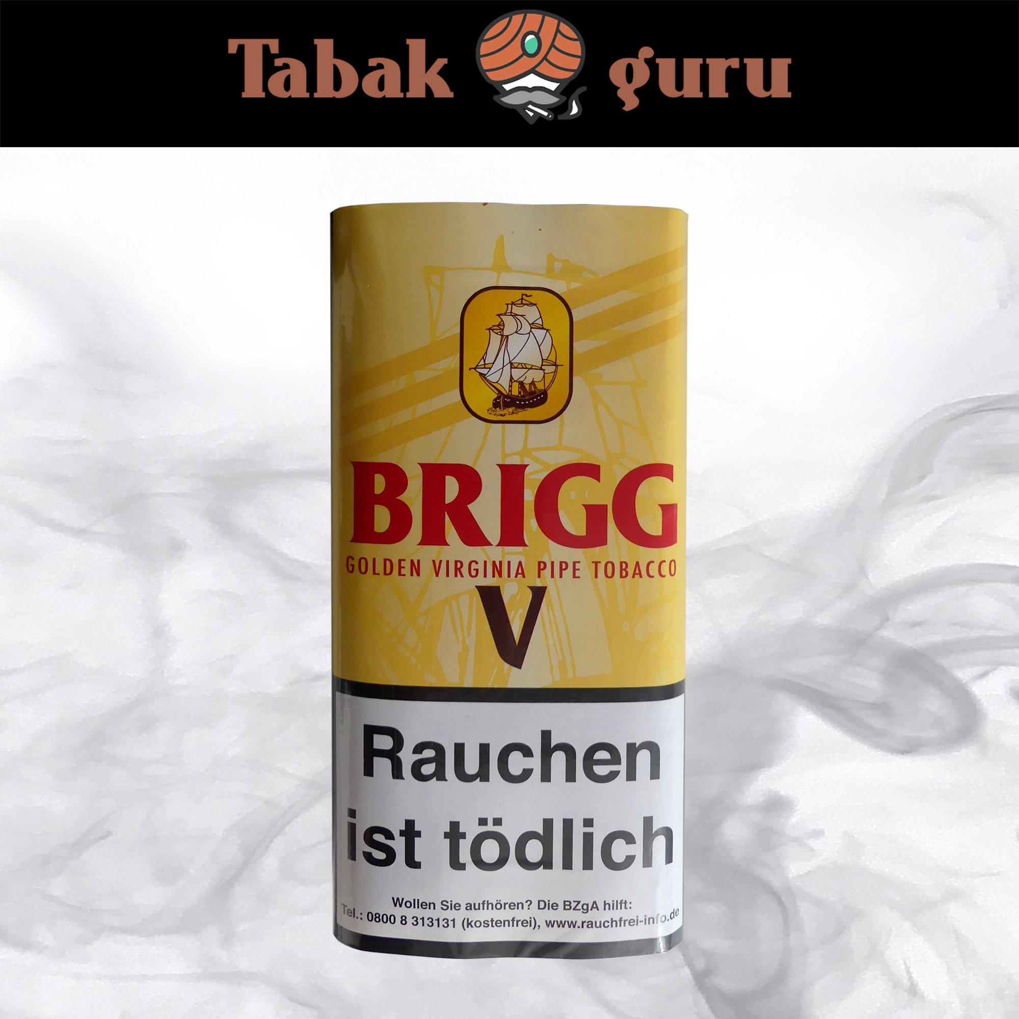 Brigg V Pouch Pfeifentabak 40 g  mit Vanille-Aroma