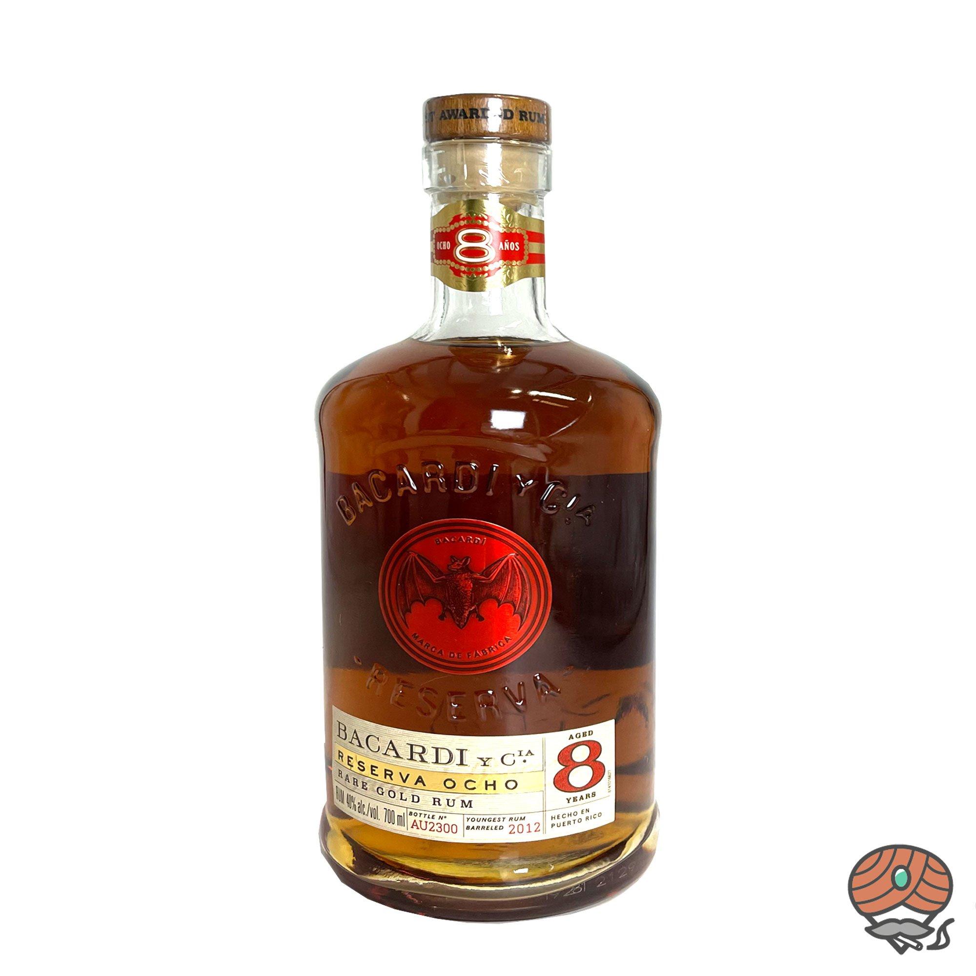 Bacardi Reserva Ocho 8 Anos Rum 0,7 l, alc. 40 Vol.-%
