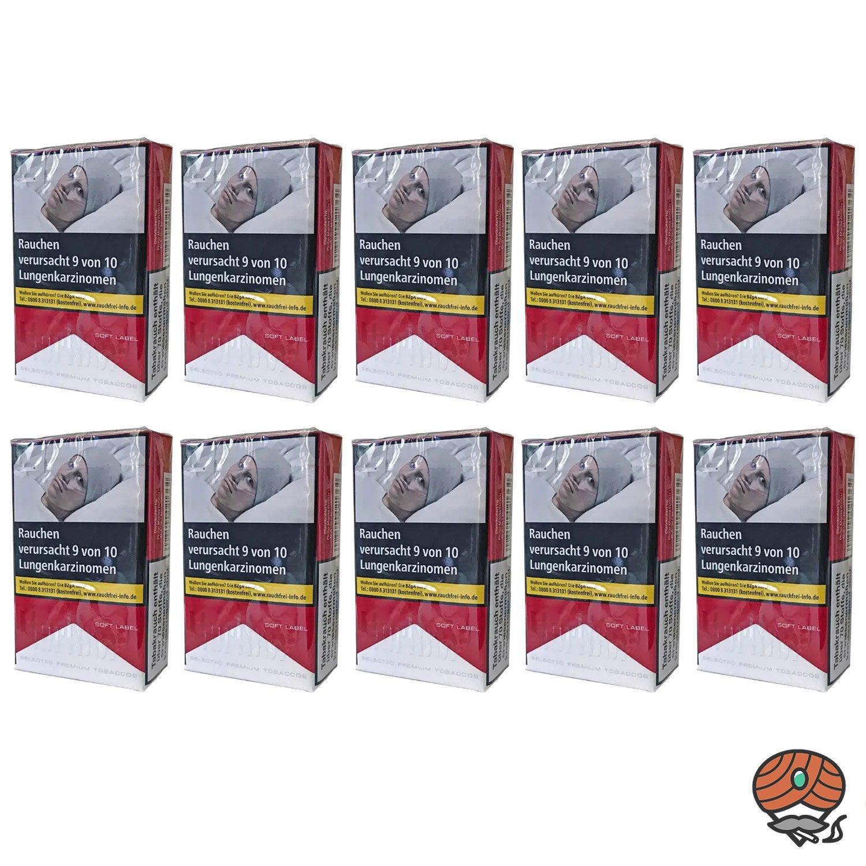 Stange Marlboro Red Zigaretten Soft Label / Soft Pack 10x20 Stück