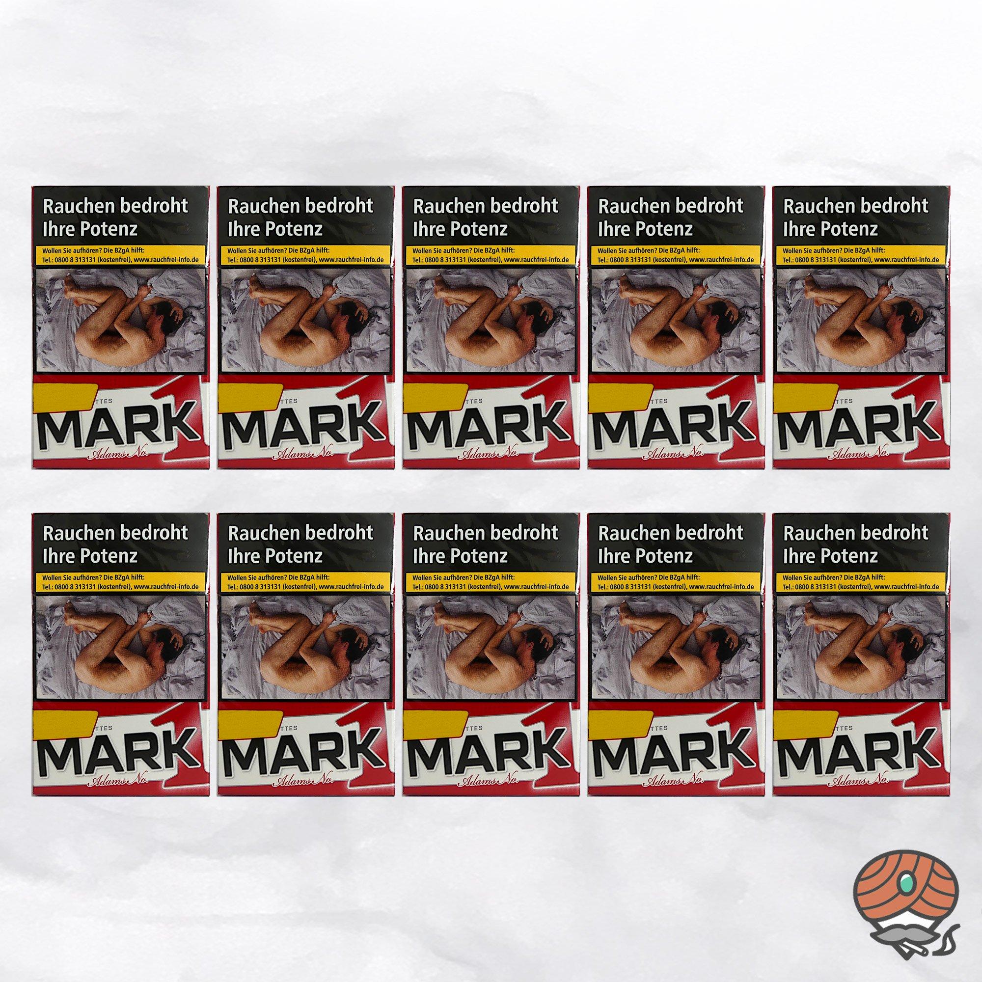 10 x Mark Adams No. 1 / Mark1 Original Red Zigaretten 1 Stange à 20 Stück