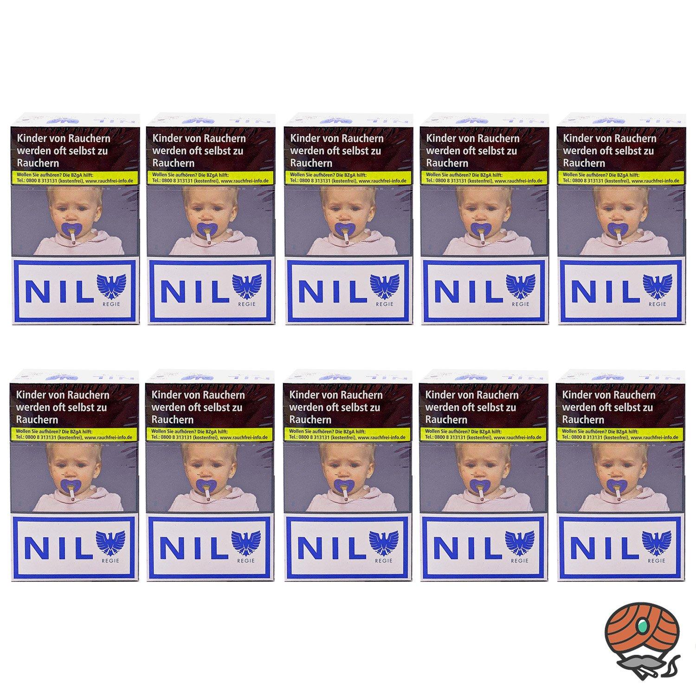 1 Stange NIL Weiss Filterzigaretten im King Size Format OP 10x20 Stück