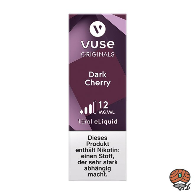 Vuse eLiquid Bottle Dark Cherry 12 mg/ml (ehem. Vype Sweet Cherry)