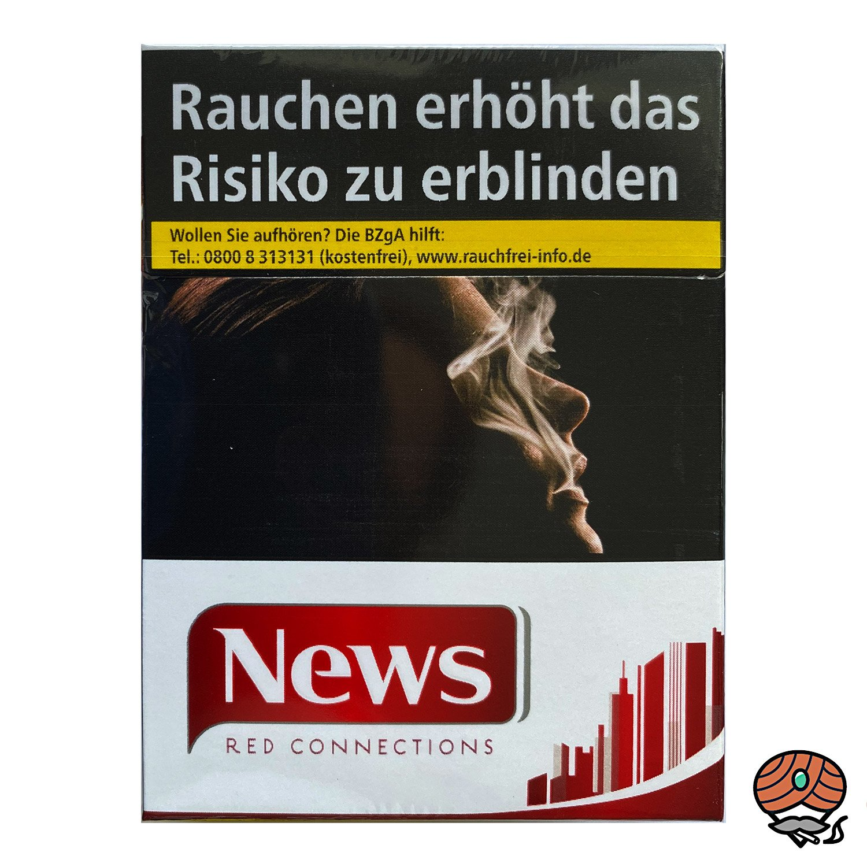 NEWS Red Connections Filterzigaretten