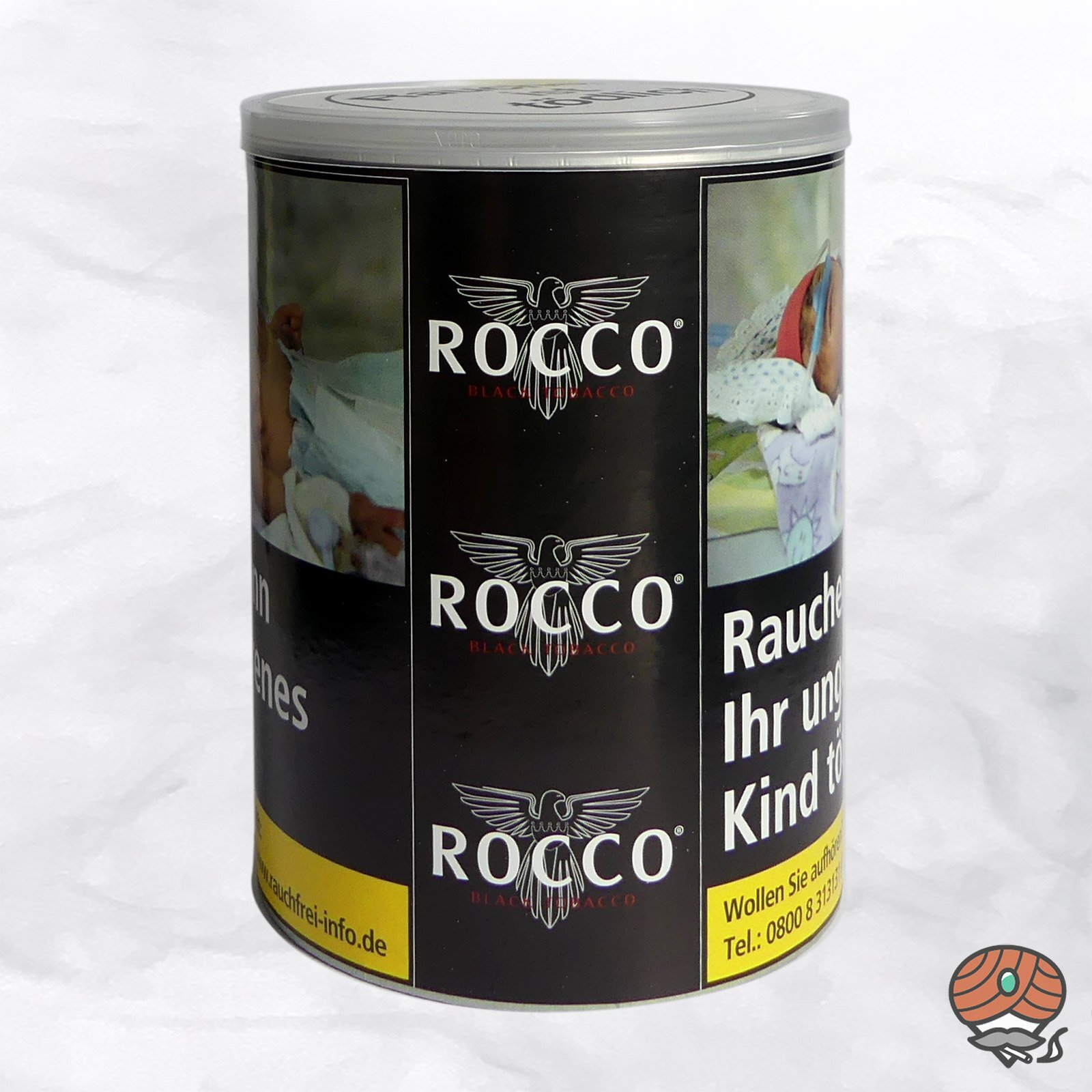 ROCCO Black Tobacco Drehtabak 130 g Dose