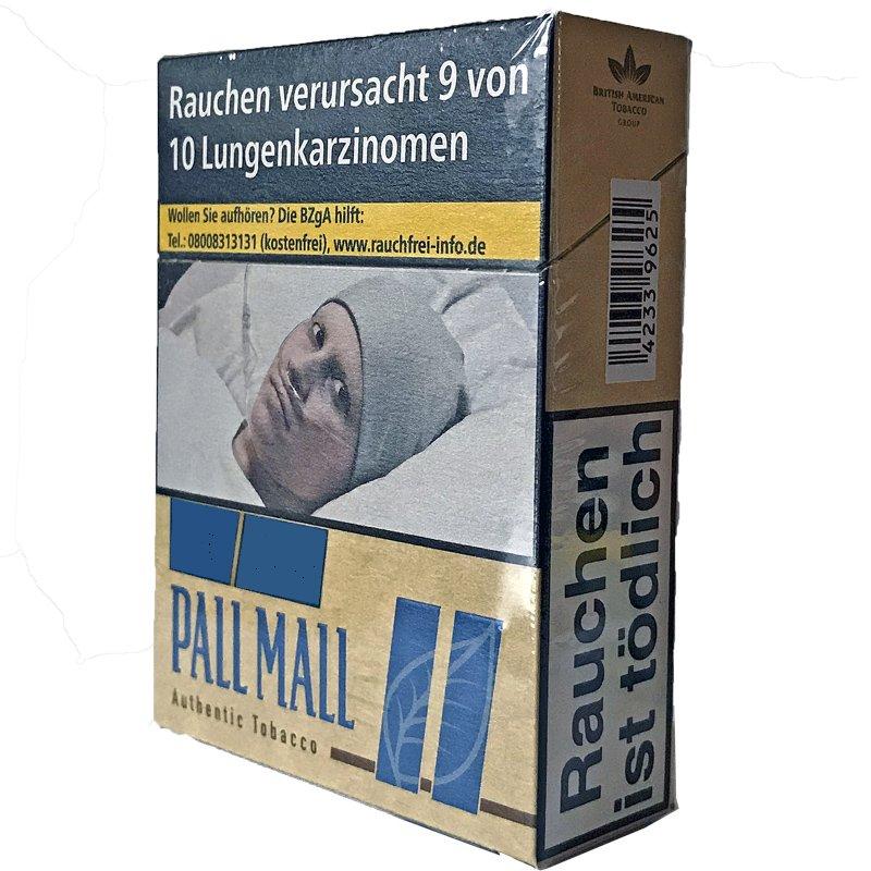 Pall Mall Authentic Blue / Blau Zigaretten ohne Zusätze Giga (33 Stück)