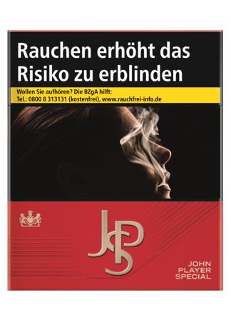 JPS / John Player Special Red Zigaretten 33 Stück