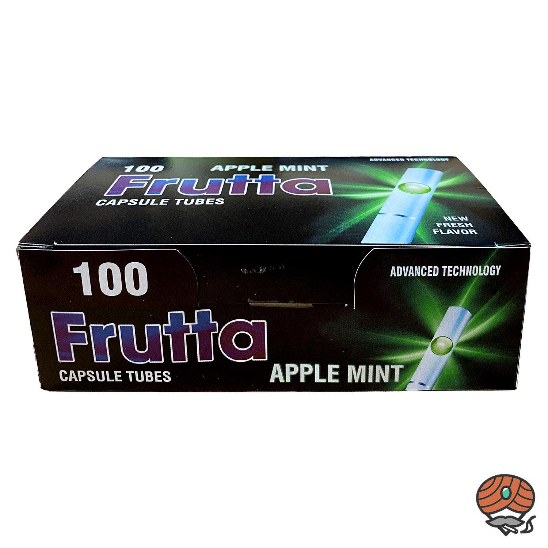 Frutta Apple Mint / Apfel Minze Click-Zigarettenhülsen, Filterhülsen